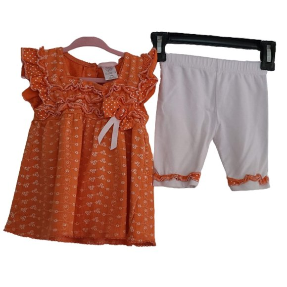 Little Lass Shorts and Shirt 2 Piece Set 24 months